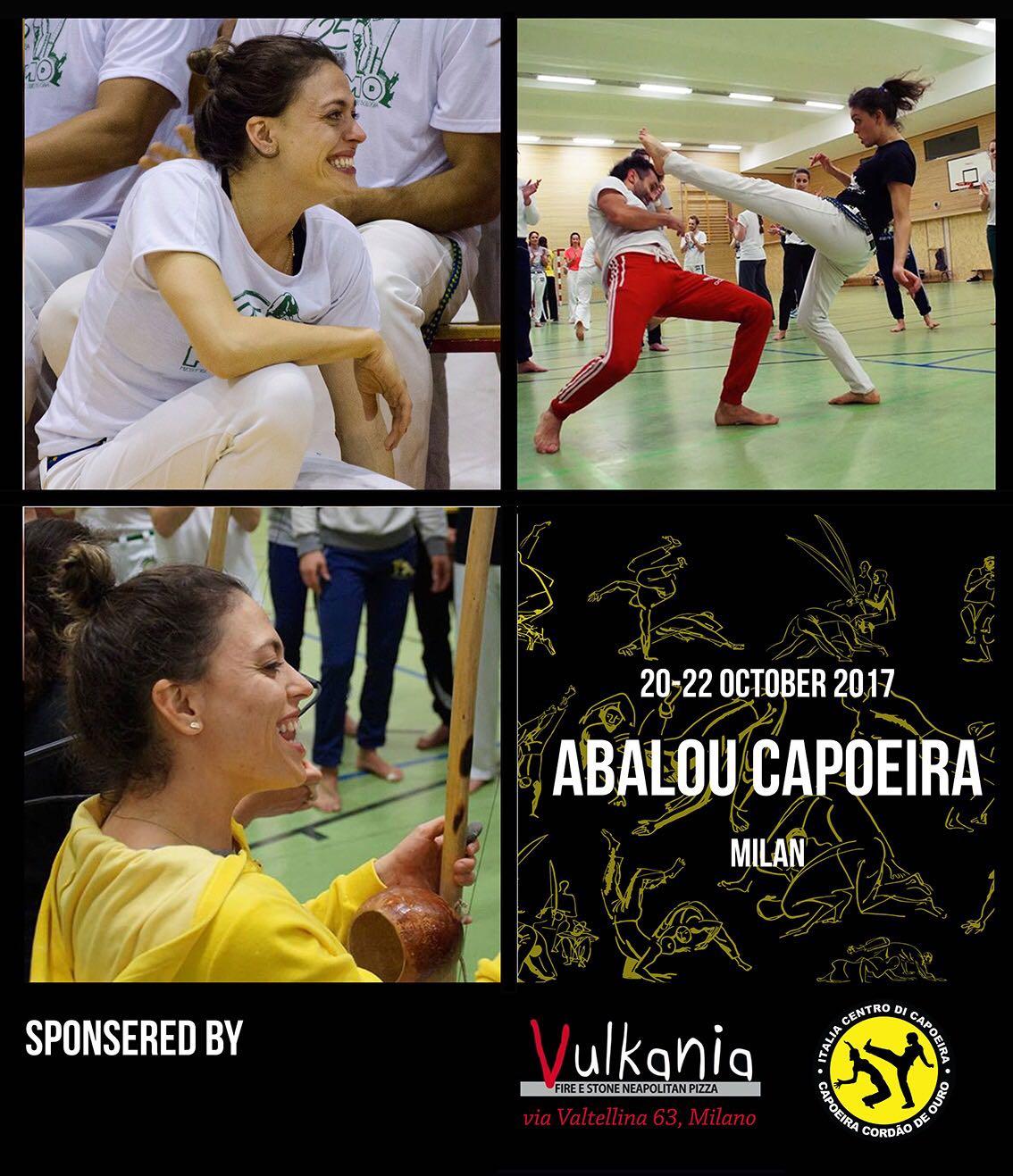 Abalou Capoeira – Prof(a) Janaina